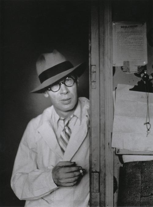Henry Miller by Brassaï