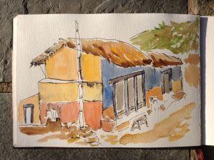 Nepal-sketches-anna-sircova - 25