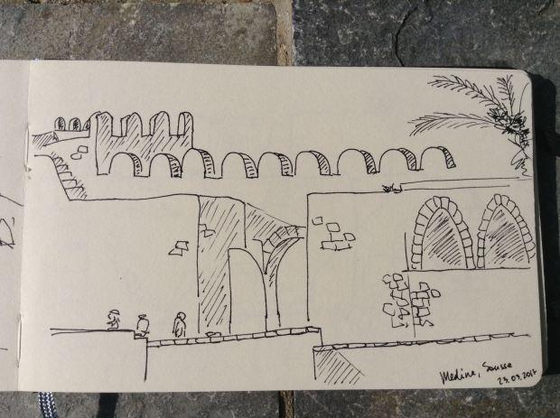 Tunis-sketches-Anna-Sircova - 2